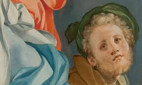 Autoportret Pontormo, Zlozenie do grobu