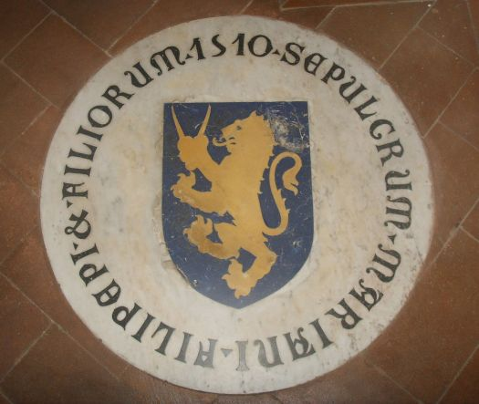 Grob Sandra Botticellego, kosciol Ognissanti we Florencji