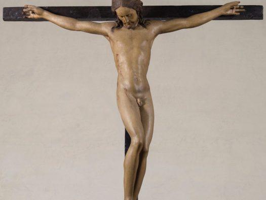 Michał Anioł, drewniany krucyfiks, Florencja