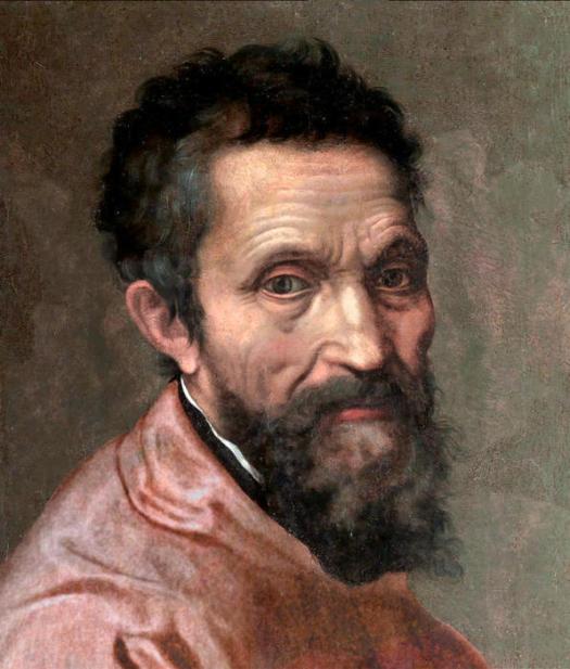 Michał Anioł, portret