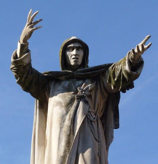 Girolamo Savonarola, Pomnik w Ferrara