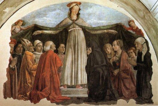 Domenico Ghirlandaio, Madonna della Misericordia, Florencja