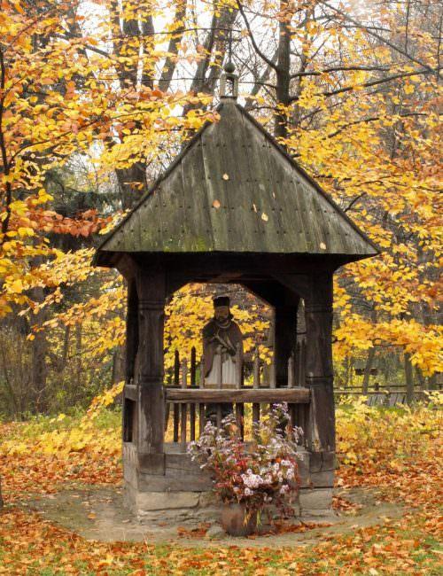 Kapliczka w Korytkowie Dużym