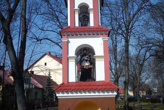 Kapliczka św. Floriana i św. Jana Nepomucena