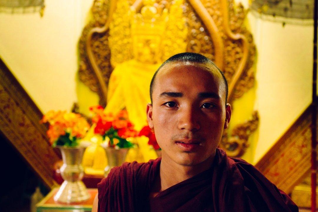 Mnich buddyjski