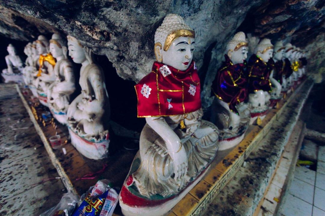 Jaskinie Hpa - An Bayin Nyi Cave