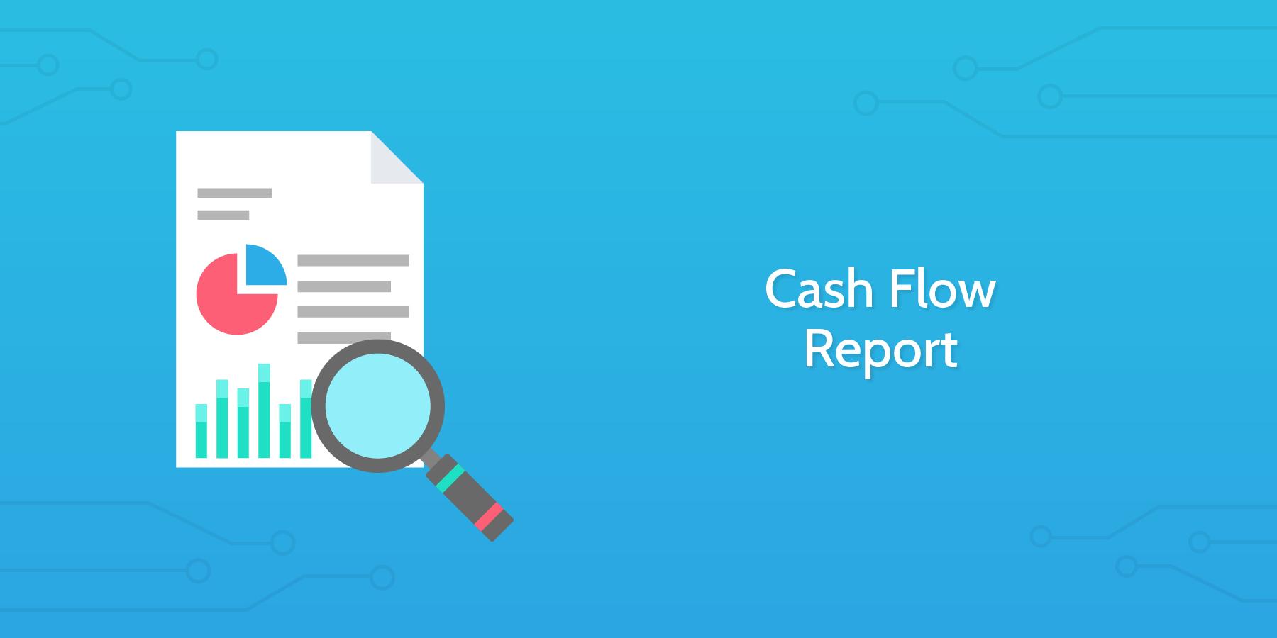 Cash Flow Report