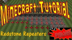 Minecraft Tutorial - Redstone Repeaters