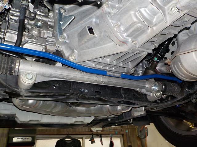 ZC6 BRZ フロントスタビライザー交換 四輪アライメント