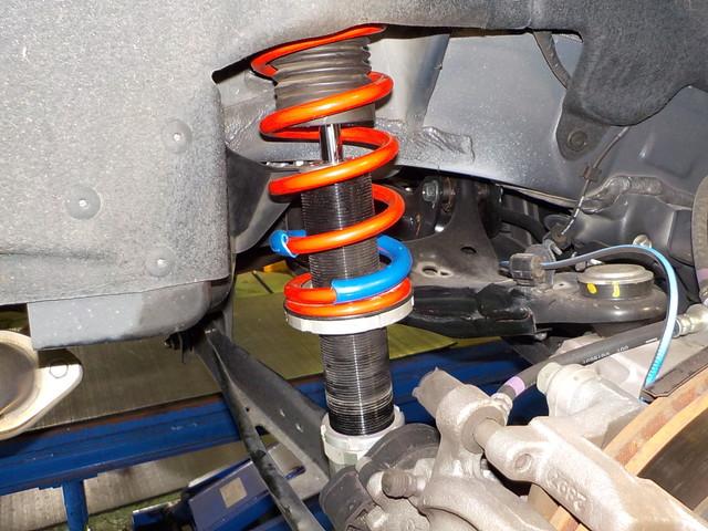 GK6 インプレッサG4 車高調整 タイヤ交換 四輪アライメント