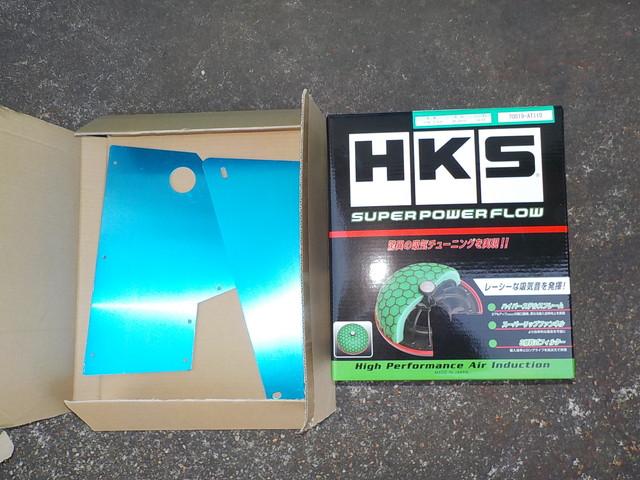 JZX110 マークⅡ HKSエアクリーナー交換