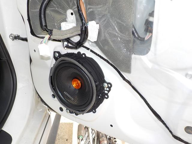ZN6 86 KENWOOD フロントスピーカー・ツィーター インストール