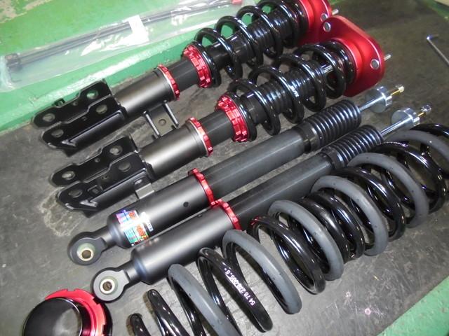 ACR50W エスティマ ブリッツZZ-R Damper車高調取り付け 四輪アライメント調整