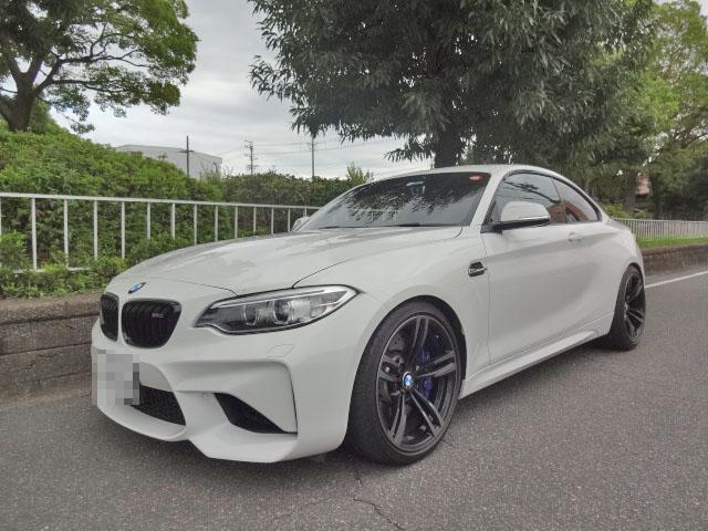 BMW M2 アイバッハのダウンサスに交換 四輪アライメント