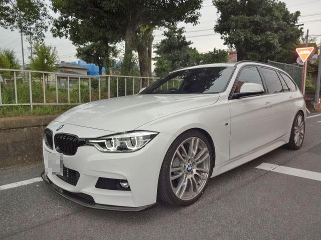 BMW F31 3シリーズ 1G締め直し 四輪アライメント