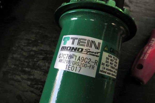 AWS210 クラウンアスリート ハイブリッド TEINの車高調に交換 四輪アライメント