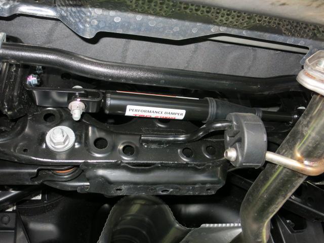 MXUA80 ハリアー BLITZ ZZ-R DAMPER DSC付き取り付け TRDパフォーマンスダンパー 四輪アライメント