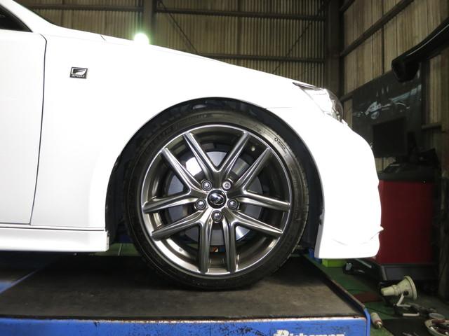 GSE31 レクサス IS 350 F SPORT TEINの車高調に交換 四輪アライメント調整