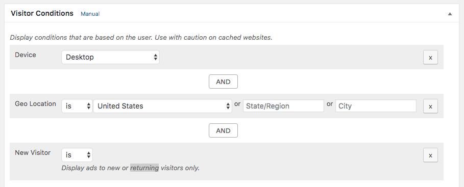 Advanced Ads –Ad Manager with AdSense Integration Capture d'écran