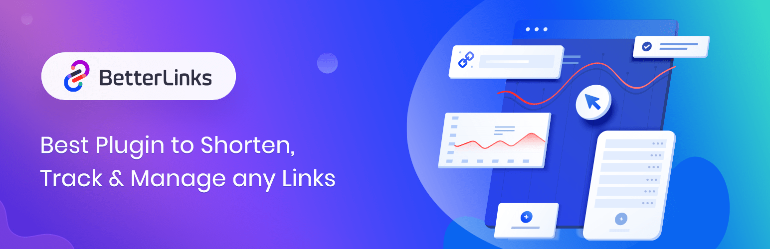 BetterLinks – Shorten, Track and Manage any URL
