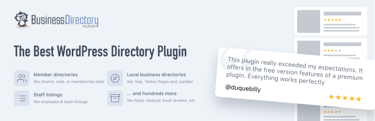 Business Directory Plugin – Easy Listing Directories for WordPress