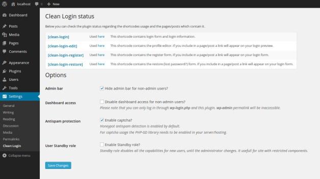 clean-login screenshot 7