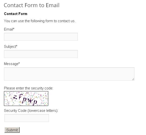 Plugin de contacto
