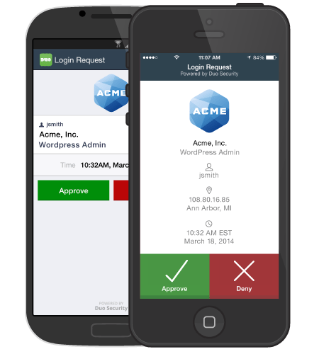 Security Cell Phone Application