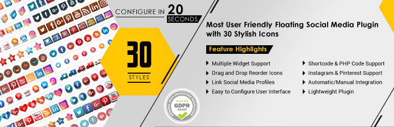 Best Free WordPress Social Media Plugins 2014 - YouOnly