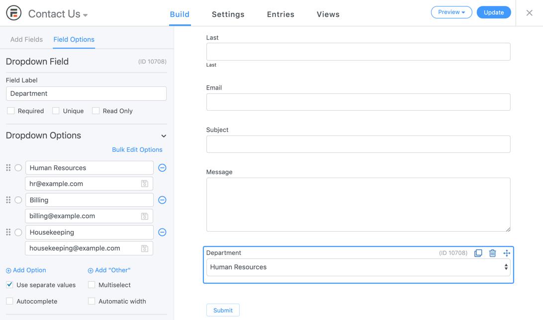 Formidable Form Builder – Contact Forms, Surveys & Quiz Forms Plugin for WordPress Screenshot