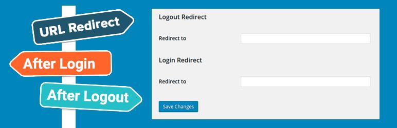 Login and Logout Redirect