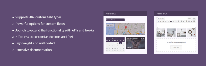 Meta Box – WordPress Custom Fields Framework