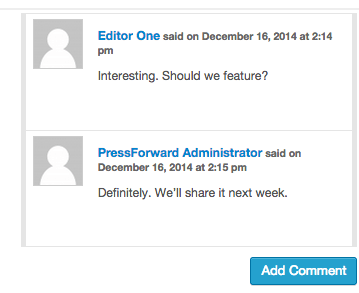 Internal discussion visible in threaded comments.