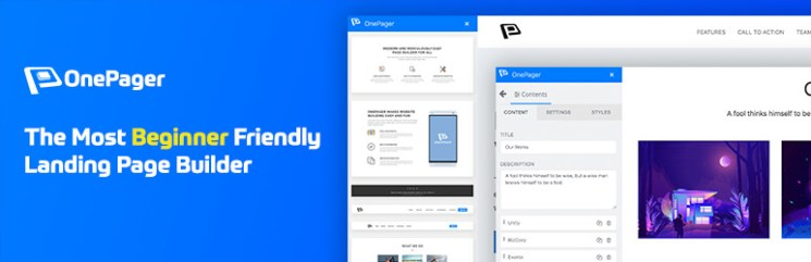 Onepager - One Page Builder