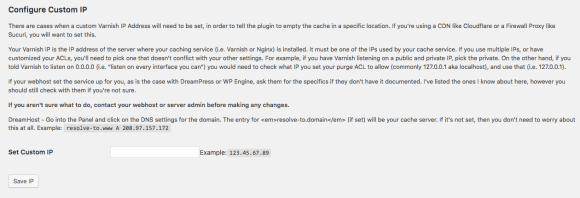 Change Proxy IP address