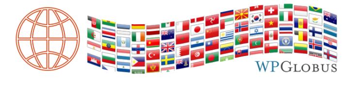 WPGlobus – Multilingual Everything!