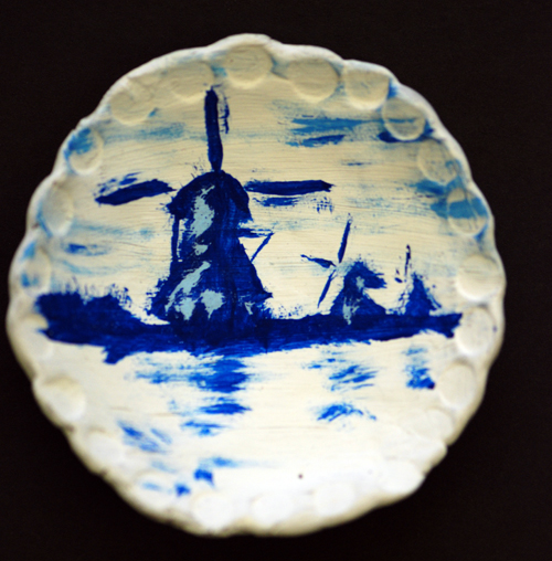 Delft Blue - Mr. Clarke