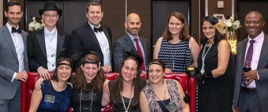 PTA executive board at spring benefit