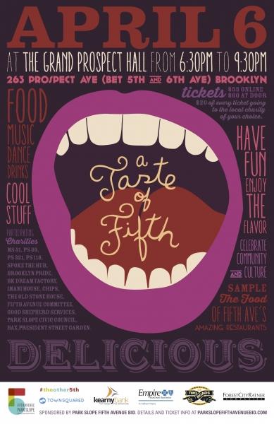 Taste of Fifth Poster