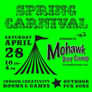 Step Right Up to the Spring Carnival…This Saturday!