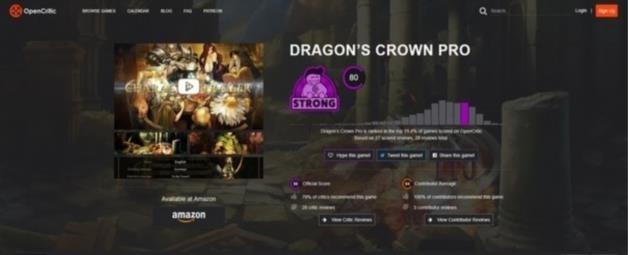 С приближающимся выходом ремастера Dragon\'s Crown Pro для PlayStation 4 в сети начали появляться первые оценки ролевого экшена