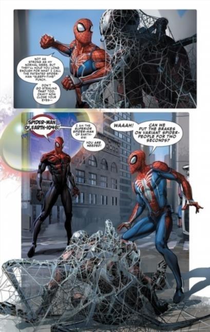 """В 2014 году стартовала арка комиксов """"Паучий мир"""" [Spider-Verse]"""