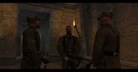 Wolfenstein: Return to Castle — Мрачная тайна. Катакомбы. Трейлер.