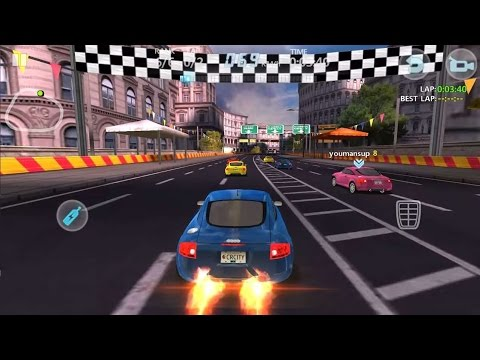 Гоночные Машины 2016. Видео для Детей. Audi TT| Ночная Гонка в Токио. City Racing 3D