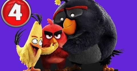 Angry Birds #4 GAMES ON прохождение игры на Android мод игра Google Play дети играют мультик