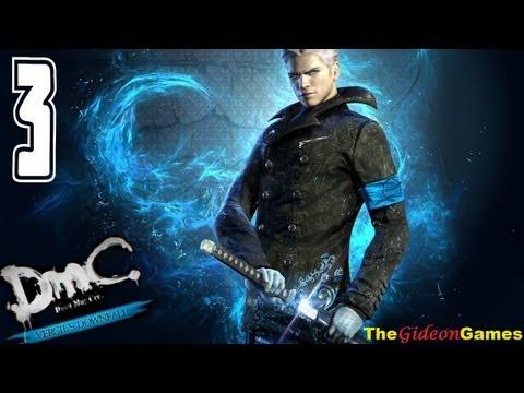 Прохождение DmC: Devil May Cry — Vergil's Downfall (HD) 2013 — Миссия 3 (Борьба за власть)