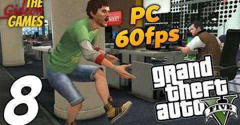 Прохождение GTA 5 с Русской озвучкой (Grand Theft Auto V)PС60fps — Часть 8 (Социальная сеть)