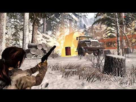 Испытание «Выжженая земля». Уничтожить топливные баки. Испытания. — Rise of the Tomb Raider
