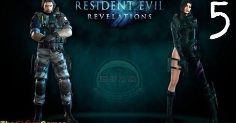 Прохождение Resident Evil: Revelations HD — 5 (Эпизод 3: «Призраки Вельтро». Часть 2)