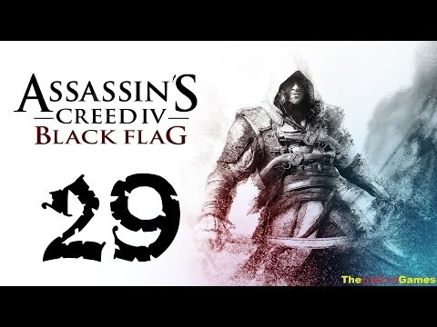 Прохождение Assassin's Creed 4 IV: Black Flag Чрный флаг HD 100% Sync — Часть 29 (Плутовка)
